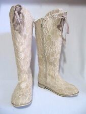 NWOT! WOMANS JOYFOLIE LACEY BOOTS IN ROSE - SIZE 8.5 - NO FLAWS!