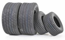(2) Front and Rear Lawn Mower Turf Tires Size 18x9.50-8 and 15x6.00-6
