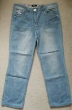 M&Co Cropped lightweight jeans size 10