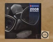 2008 Suzuki New Model Hayabusa B-King GSX650 F Boulevard RM-Z450 DR-Z Brochure