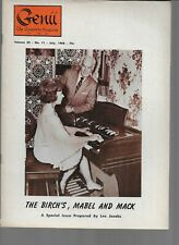 Genii The Conjurors Magazine,July 1968-The Birch'S, Mabel And Mack