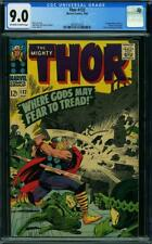 THOR 132 CGC 9.0 OFF WHITE TO WHITE PAGES  1ST  EGO 1966 B1