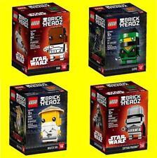 Lego BrickHeadz 41485 Finn, 41486 Captain Phasma, 41487 Lloyd, 41488 Master Wu