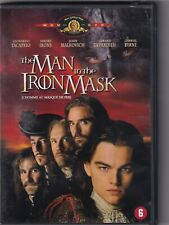 DVD : The Man In The Iron Mask (1998) Leonardo DiCaprio - Jeremy Irons