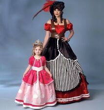 BUTTERICK SEWING PATTERN 6113 MISSES PIRATE PRINCESS COSTUMES SIZES S-XL 8-22