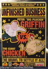 """Peter Griffin Vs. The Giant Chicken - 2"""" X 3"""" Fridge Magnet. Family Guy"""