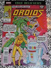 Marvel - True Believers - Star Wars Droids #1 Comic Book Star Wars Day 7/16