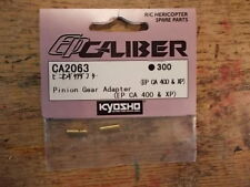 CA2063 Pinion Gear Adapter- Kyosho EP Caliber EP CA XP Helicopter Electric Helo