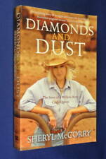 DIAMONDS AND DUST Sheryl McCorry AUSTRALIAN CATTLE STATION FARM book - med pb