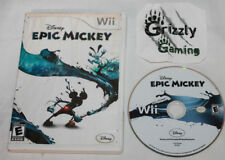 USED Disney Epic Mickey Nintendo Wii (NTSC) Canadian Seller!!