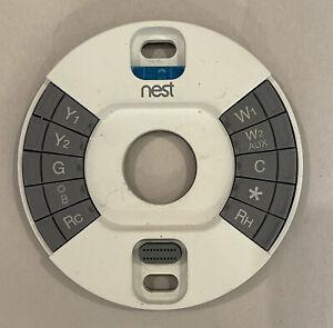 Google Nest Thermostat 3rd Gen E360129 A0013 Back Base Unit WIRING HARNESS ONLY