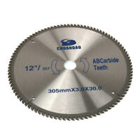 12 Inch Cutting Disc Circular Saw Blade For Cutting Wood Aluminum Tool 80 Teeth