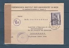 Eta/ enveloppe  Autriche pour la Suisse voyagée en 1948 Durnstein