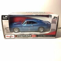 Maisto Premiere DC 1:24 Die Cast 1969 Dodge Charger R/T. New In Box