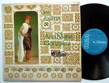Los Exitos de ANA MARIA GONZALEZ RCA Camden LP Latin
