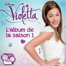 Violetta Disney CD + DVD saison 1 24 titres  NEUF sous cellophane