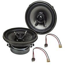 Mercedes W124 E-Klasse Frontsystem Lautsprecher 80W inkl. Kabel TOP KLANG