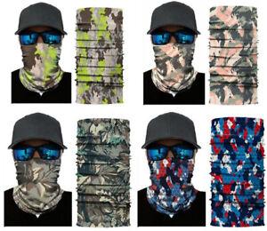 Camouflage Snood Face Mask Neck Tube Scarf (RM5) NEW UK Seller Balaclava Bandana