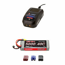 Venom 40C 2S 5000mAh 7.4V Sport Power LiPo Battery with Sport Charger Combo