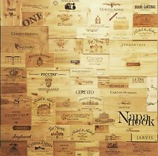 22 Assorted & Branded Wine Crate Panels  (Wine Box) Sides/Ends/Tops Wood