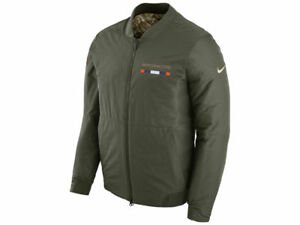 Denver Broncos Nike NFL Men's Salute To Service Reversible Bomber Jacket SZ: XXL