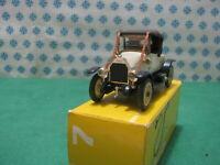 Vintage -  FIAT Zero Spyder 1914  -  1/43  Rio  n° 7   Mint in Box