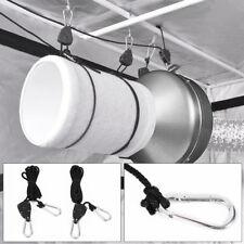 New 10 Pair Adjustable Lighting Pulle Heavy Duty Rope Ratchet Hanger 150 lbs