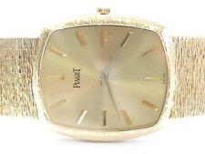 "18Kt Men's Piaget Yellow Gold Wrist Watch 92 Grams 8"""