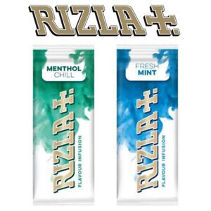 NEW Rizla Flavour Cards Card - Infusions of Fresh Mint or Menthol Chill Cheapest