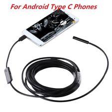 Semi-Rigid Type C Waterproof Endoscope Inspection Camera for Samsung Galaxy S8+