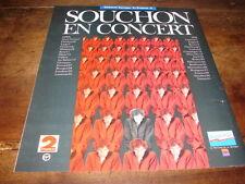 ALAIN SOUCHON - PUBLICITE EN CONCERT !!!!!!!!!!!!