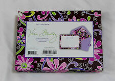 New Vera Bradley INVITATIONS in PURPLE PUNCH MSRP $23 Box of 12