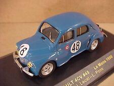 Ixo 1/43 Diecast Renault 4CV, 1950 leMans, #48, Lecat & Pons  #LMC084