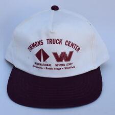 TIMMONS TRUCK CENTER INTERNATIONAL WESTERN STAR Snapback OSFA Baseball Cap Hat