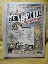 1. ALBUM DES FAMILLES.  Gd Cathéchisme Populaire en Images. D'Isné et Lacaille.
