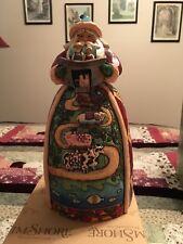 Jim Shore Heartwood Creek 10� Santa with Noah's Ark