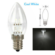 4 LED Candle Light E12 Chandelier Buddha Lamp Bulb 10W Incandescent Cool White