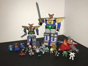Power Rangers Zeo ALL 5 sets COMPLETE micro playsets I, ll, lll, lV & V+BONUS