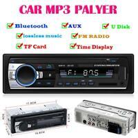 Autoradio In-Dash Radio Stereo Bluetooth Freisprecheinrichtung MP3/USB/AUX-IN/FM