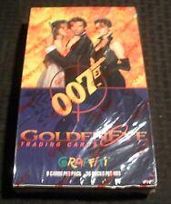1995 James Bond 007 GOLDEN EYE Trading Card SEALED Box 36 Packs Graffiti