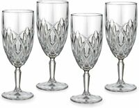 Marquis by Waterford Brookside ICED BEVERAGE SET OF 4 CRYSTAL GLASSES