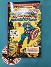 Stan Lee Presents Captain America 1979 pocket paperback comic book Marvel Comics