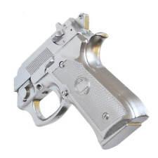 Appendiabiti da parete Pistol alluminio in resina decorato a mano 4x15x13