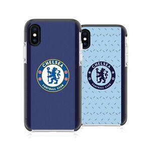 CHELSEA FOOTBALL CLUB 2020/21 KIT BLACK SHOCKPROOF BUMPER CASE FOR iPHONE PHONES
