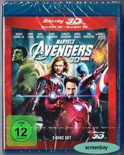 """THE AVENGERS"" - MARVEL Action - Chris Hemsworth - BLU RAY 3D + 2D - 2-Disc-Set"