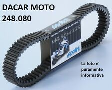 248.080 CINGHIA VARIATORE POLINI PIAGGIO  X10 500 4T 4V ie EURO 3 - XEVO 400