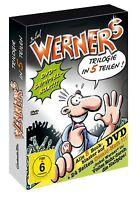 WERNER 1-5 COMICBOX (BEINHART/VOLLES ROOÄÄÄ/DAS MUSS KESSELN/+)  5 DVD NEU