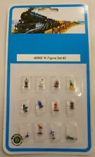 Bachmann N Scale Painted People Figures 12 Piece Set # 2 42502