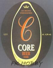 Poland Brewery Witnican Core Beer Label Bieretikett Cerveza wi82.2