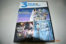 New Listing3 Film Collection Beetlejuice Charlie and the Chocolate Factory Corpse Bride